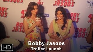 Trailer Launch of Bobby Jasoos
