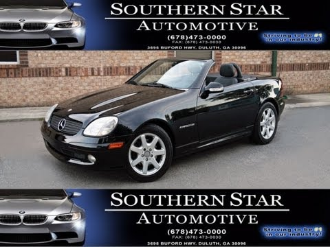 2003 MERCEDES-BENZ SLK230 ROADSTER KOMPRESSOR