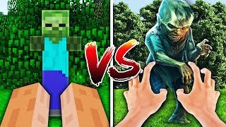 MINECRAFT VS REAL LIFE... WITH MOOSECRAFT, UNSPEAKABLEGAMING, AND 09SHARKBOY!