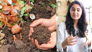 Composting  kitchen Waste at Home