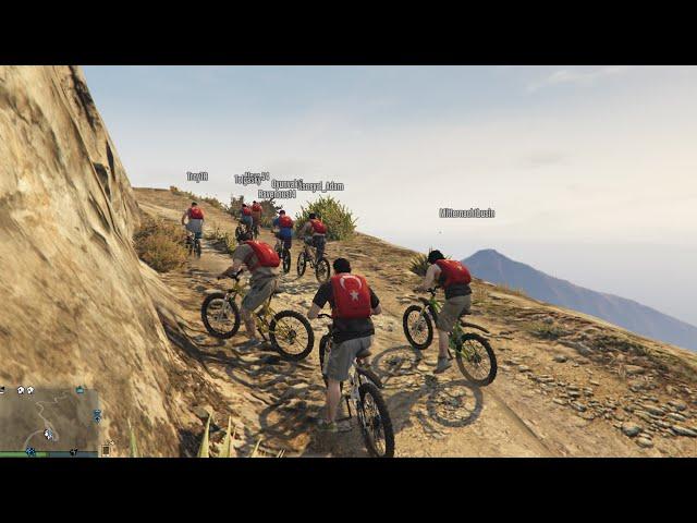 GTA Online PC Bisiklet Turu ve Para?ütle Atlama