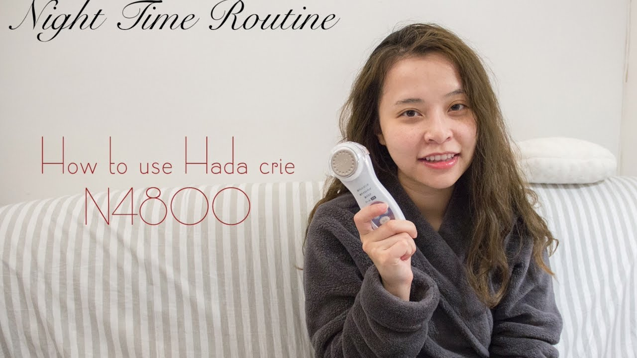 Night time routine ft. Hada Crie N4800 | How to use Hada Crie N4800 | Every Noémie