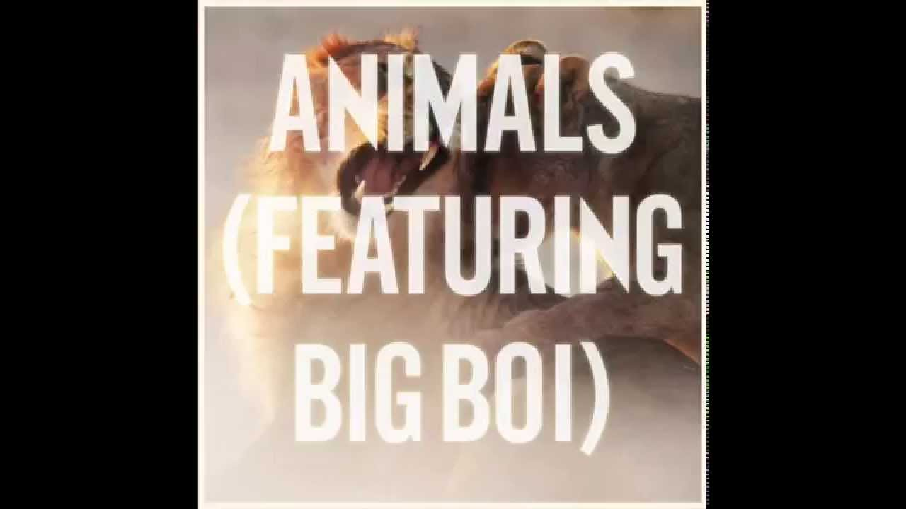 Maroon 5- Animals Ft. Big Boi Remix