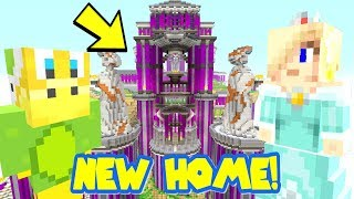 Minecraft   Super Mario Series   Carter Moves To His NEW Home! [333]