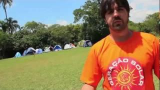 Acampamento solar no Fórum Social Mundial 2012