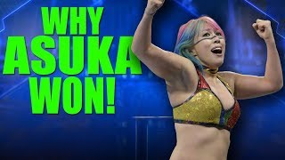 Real Reasons Why Asuka Was Added To First Ever WWE Women's TLC Match