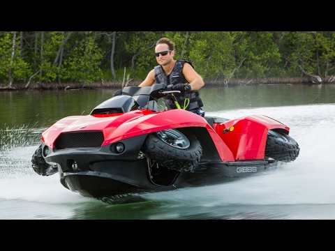 ATVs! Floating ATV!