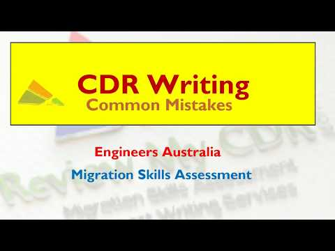 Professional CDR Writing Techniques For Engineers Australia | ReviewmyCDR