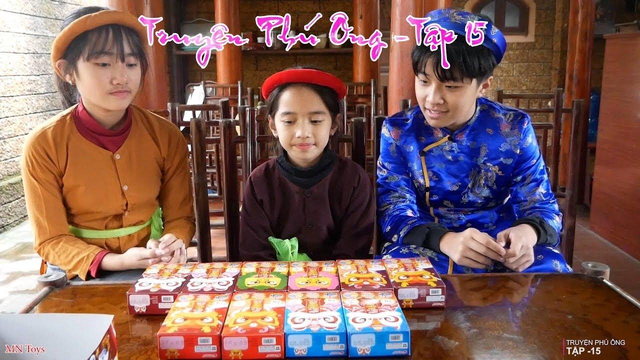 Truyện Phú Ông - Người Hầu Gái Xin Tiền Mua Bánh Marine Boy May Mắn Cả Tết 2019 - Tập 15 - MN Toys