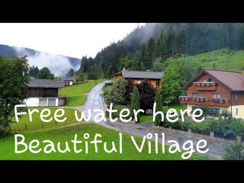 FREE WATER IN BEAUTIFUL VILLAGE IN FILZMOSS, AUSTRIA