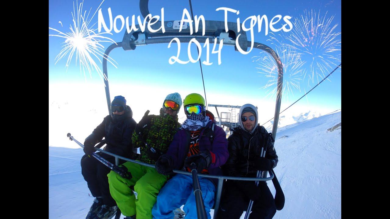 Tignes 2014 - new year and ski / snowboard with joachim garraud by gopro hd hero 3+black