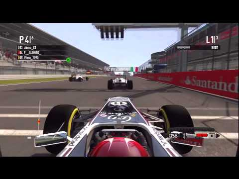 F1 2011 - Crash Montage pt 3 with Commentary