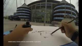 Kymioflario // Etihad Stadium, Manchester.