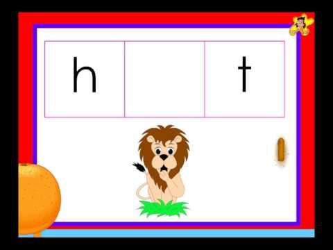 Kindergarten Phonics Worksheet Words With The Short Vowel O Sound
