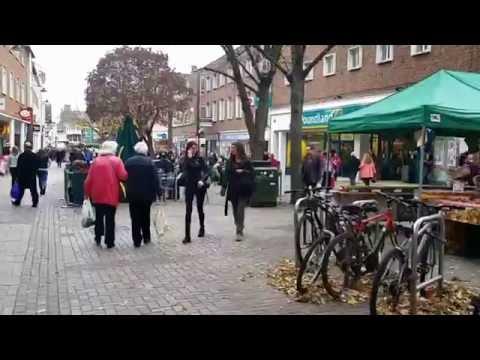Exploring Canterbury City Centre and High Street (Canterbury, England)