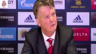Louis Van Gaal clashes with Journalist Over Mourinho Question