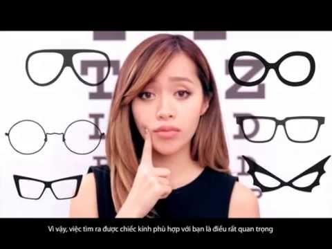 Cách chọn kính mắt phù hợp với khuôn mặt