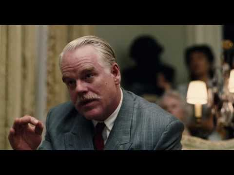 The Master  Philip Seymour Hoffman's confrontation  of The Cause