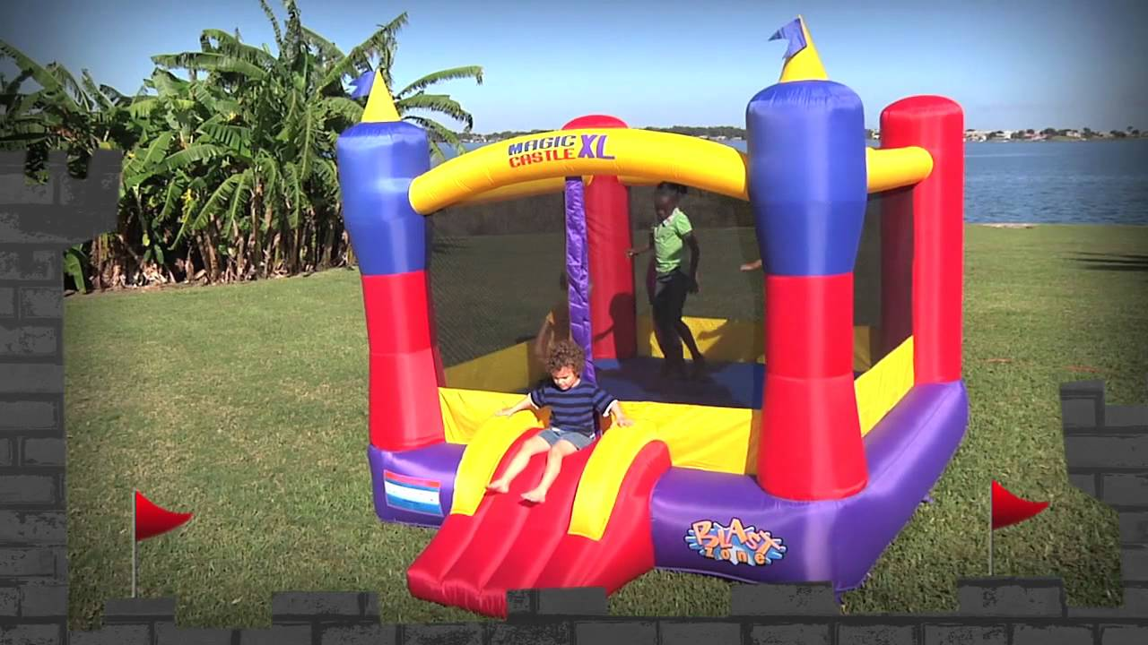 magic castle xl 10 inflatable bounce house by blast zone - Inflatable Bounce House