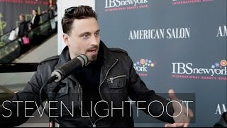 STEVEN LIGHTFOOT Interview for AMERICAN SALON at the International Beauty Show in NYC 2016