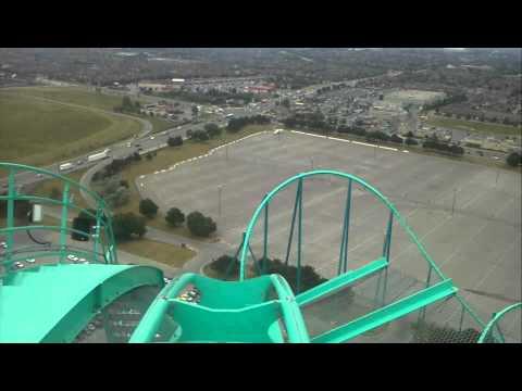 Leviathan Front Seat OnRide POV Canada's Wonderland *HD*