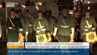 """Großer Zapfenstreich """"60 Jahre Bundeswehr"""""""