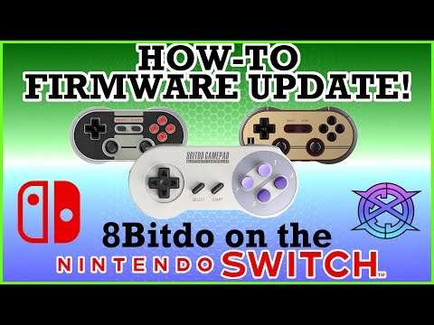 How-to Firmware Update 8bitdo controllers for NINTENDO SWITCH
