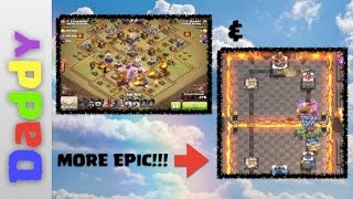 Clash Of Clans AND an EPIC Clash Royal battle and a rant