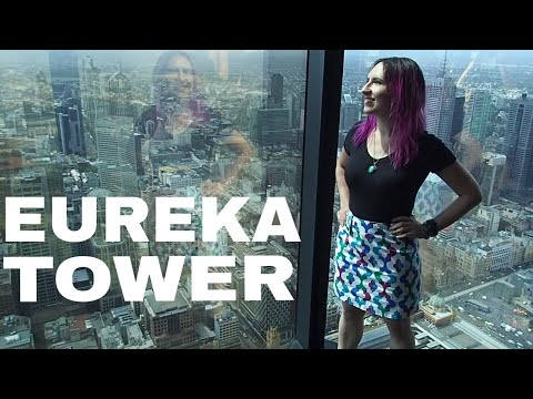 Eureka Tower Skydeck in Melbourne