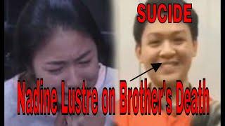 Nadine Lustre Breaks silence on teenager brother's death & ABANGERS ADVICE !
