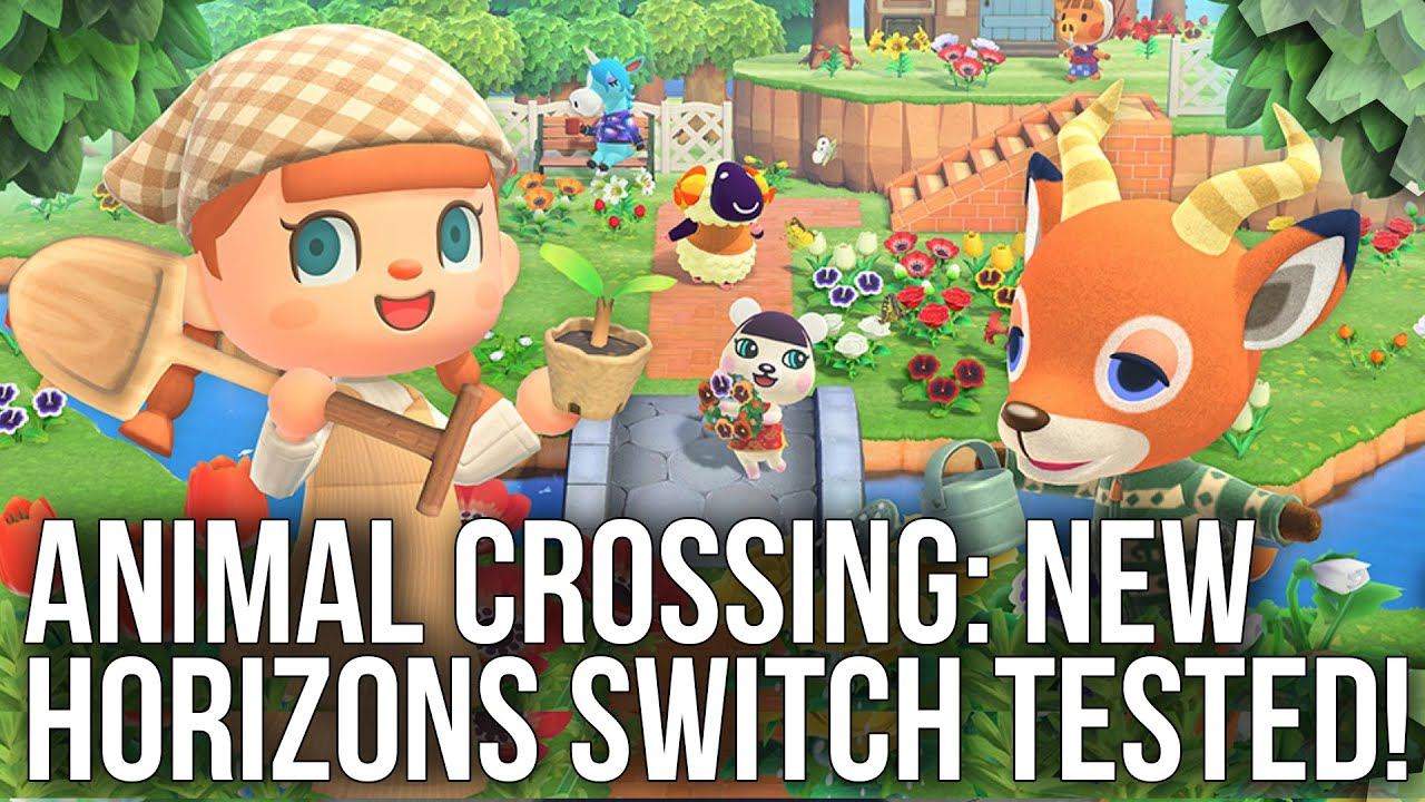 Animal Crossing New Horizons on Switch: Revamped Tech For a New Generation