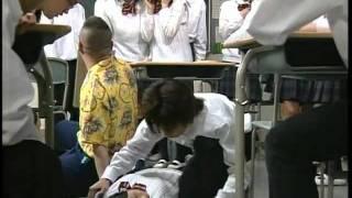 第2回「ロボット 学校へ行く」 黒川芽以 岡田奈々 鶴見辰吾 崎本大海 ...