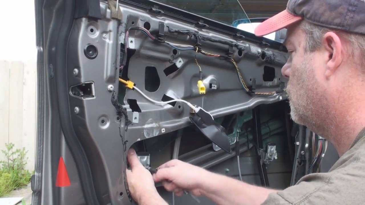 How To Replace And Repair A Power Window Regulator In A