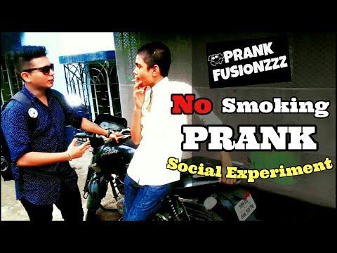 No Smoking Prank Social Experiment By Prank Fusionzzz |PRANK IN INDIA|