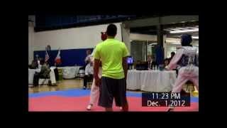 2012 Michigan - Midwest Taekwondo Championships with Aziza Chambers