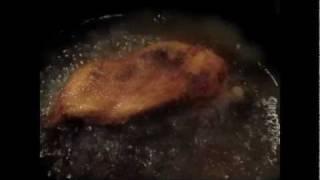 Flash Fried Chicken Mash Up The Chew's Carla Hall And Rocco Dispirito