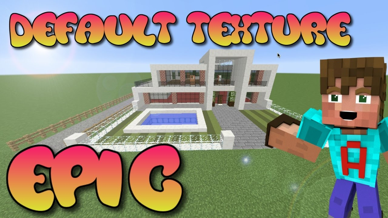 MINECRAFT How To Build A Modern House In Minecraft Ultra Modern