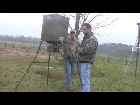 Wireless Feral Hog Trap