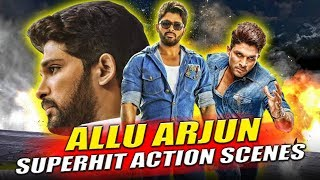 Allu Arjun Superhit Best Hindi Dubbed Action Scenes | South Hindi Dubed Best Action Scenes