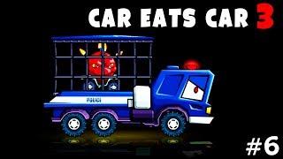 МАШИНА ЕСТ МАШИНУ. Добрался до АРЕНЫ. Прохождение игры ХИЩНЫЕ МАШИНЫ 3. Видео детям. Car eats Car 3.