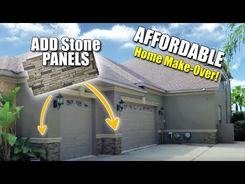install-(fake)-faux-stone-panels:-exterior-.-.-.-save-money---amazing-results!