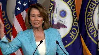 Nancy Pelosi Press Conference on Scalise & President Trump's actions