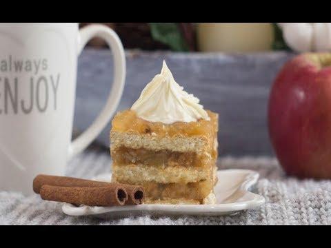 Brzi kolač od jabuka koji se ne peče