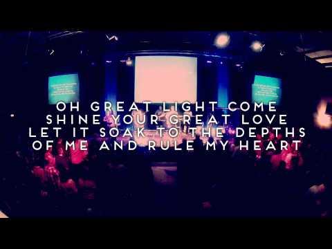 O Great Light  - Official Lyric Video - Live Vineyard Worship [taken from Waterfalls]