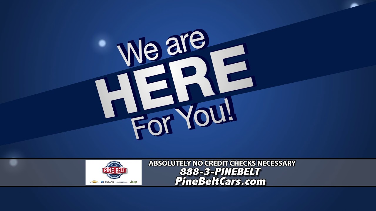Guaranteed Credit Approval - Pine Belt Cars