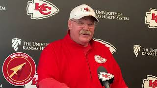 Andy Reid knows the Patriots will be a tough challenge (NFL Week 14 2019)