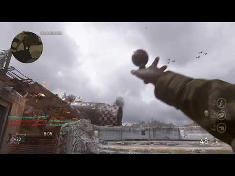Call of duty WW2 gameplay CAMPER EXPOSE and was RAGING