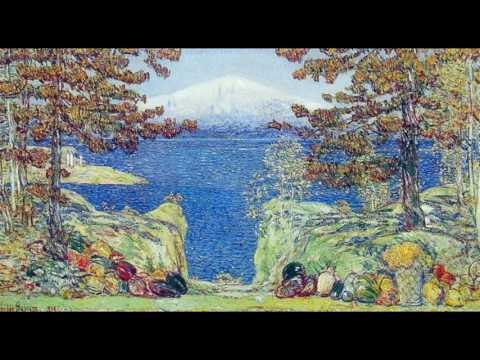 Childe Hassam  蔡爾德·哈薩姆  (1859-1935)   Impressionism  American
