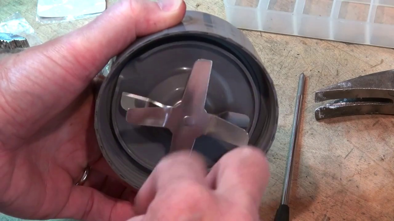 hight resolution of nutribullet extractor blade bearing replacement tutorial