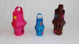 Бумажные фонарики! Новогодние елочные украшения своими руками! Поделки из цветной бумаги для детей.(Девочка с мамой делают своими руками елочные украшения (игрушки) из цветной бумаги: бумажные фонарики со..., 2015-11-16T14:57:32.000Z)